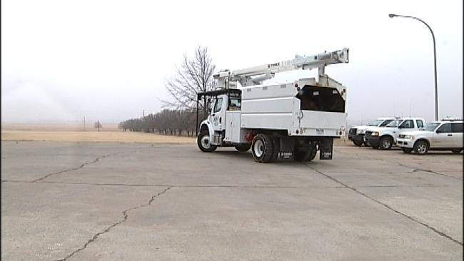 Rural Oklahoma Electric Co-ops Prepare For Storm