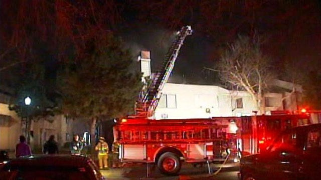 Tulsa Fire: Discarded Cigarette Cause Of Monday's Apartment Fire