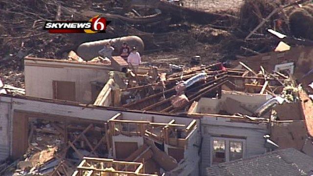 Funerals Held For Arkansas Tornado Victims