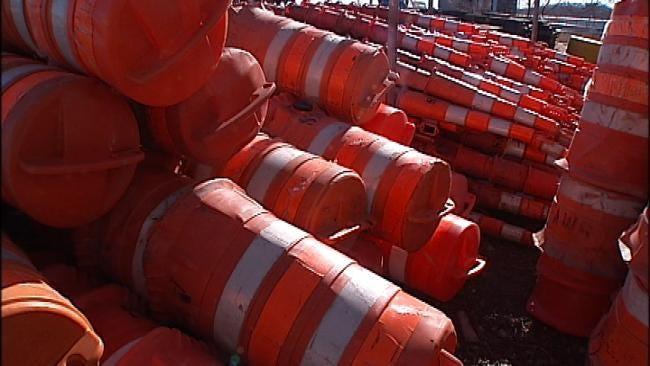 Tracking Tulsa's Orange Barrels