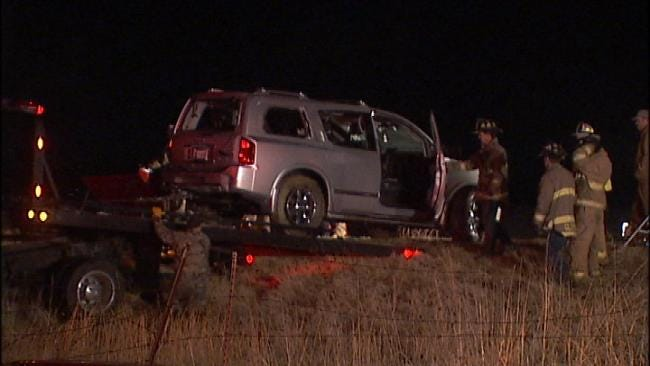 Sapulpa Woman Killed When Car Plunges Into Pond