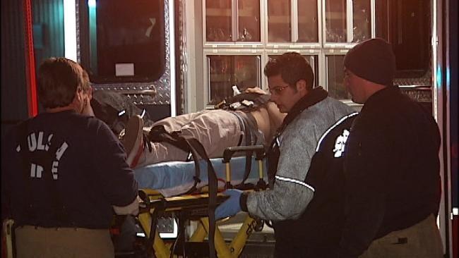 Two Men Shot Near East Tulsa Club