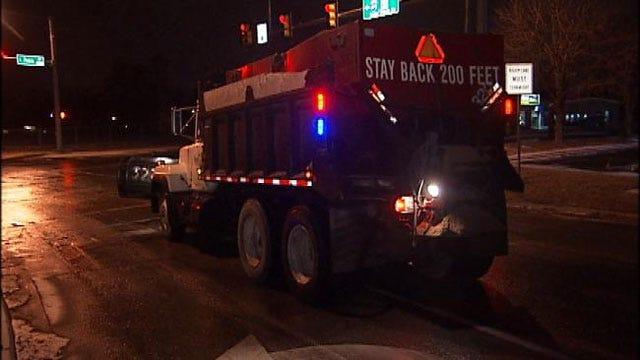 Wrecks Pile Up As ODOT Works To Clear NE Oklahoma Roads