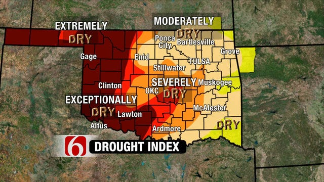 Excessive Heat Warning Continues For Most Of NE Oklahoma