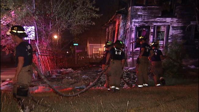 Tulsa Fire Investigators Believe Arsonist Has Struck North Tulsa Again