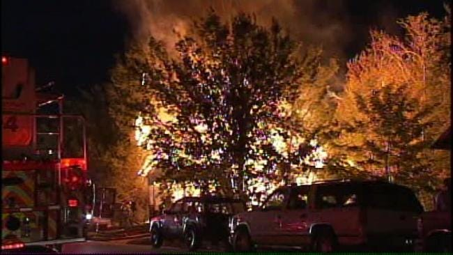 Arson Suspected In Tulsa House Fire Early Tuesday