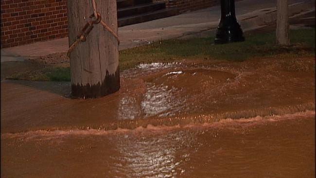 Water Main Breaks Above Normal In Tulsa But Not A Record