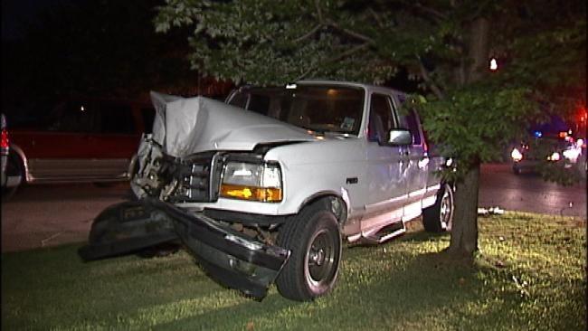 Tulsa Driver Turns Pickup Truck Into A Bumper Car