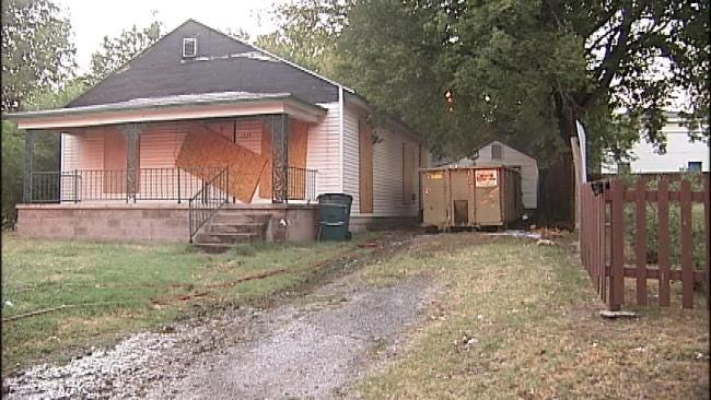 Arson Investigators Look For Cause Of Tulsa Dumpster Fire