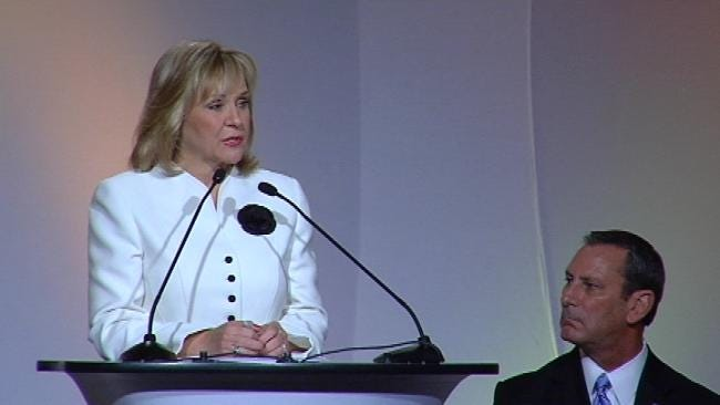Governor Mary Fallin Makes 'State Of The State' Address In Tulsa