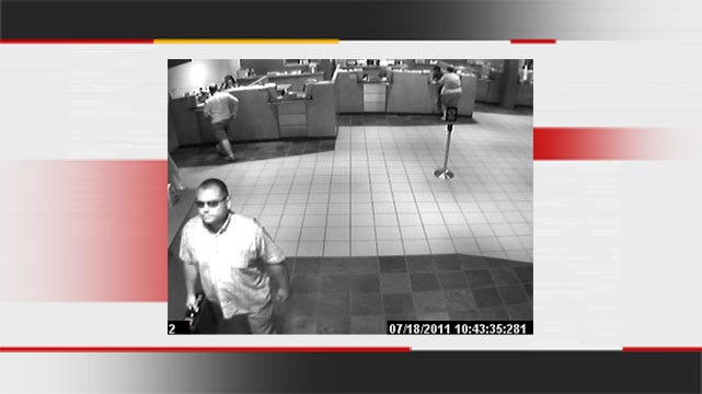 Police Look For Man Who Robbed Tulsa Credit Union