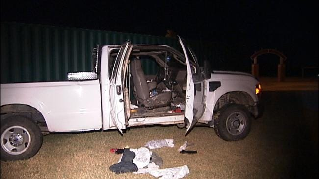 Tulsa County Deputies Recover Pickup Truck Involved In Chase