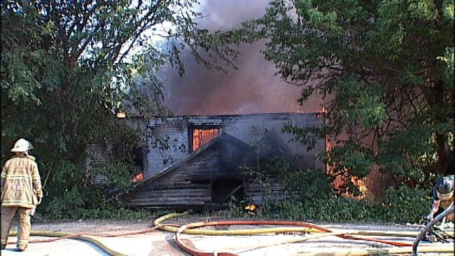 Fire At Vacant Tulsa Home Was Intentionally Set