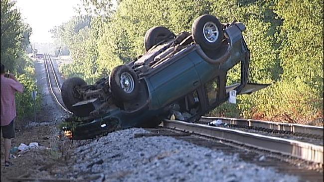 Sleepy Driver Blamed For Broken Arrow SUV Crash