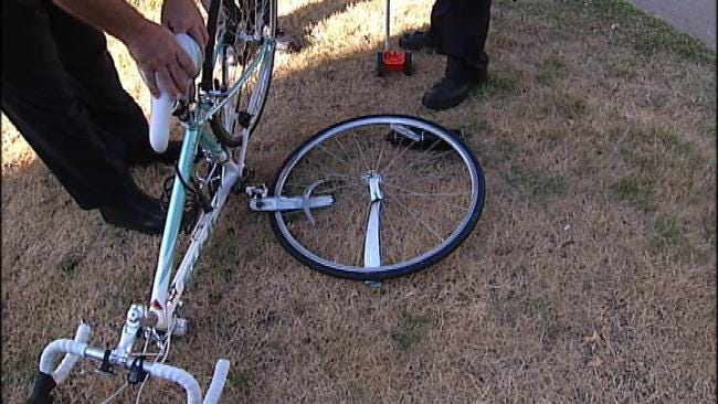 Tulsa Bicyclist Injured In Tuesday Morning Crash