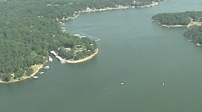 Few Boaters Brave Grand Lake Waters On Holiday Weekend