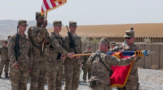 Oklahoma Infantry Brigade Assumes Afghanistan Duties