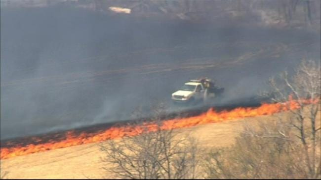 Only 9 Oklahoma Counties Don't Have A Burn Ban