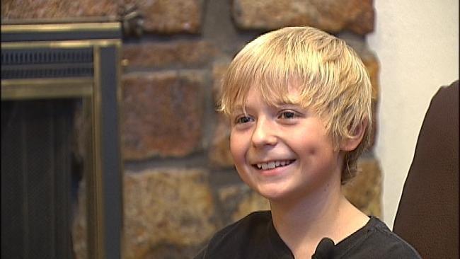 Tulsa Ten Year Old Working On Third Book