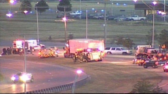 Wednesday Morning Crash Backs Up Traffic On Highway 11 In Tulsa