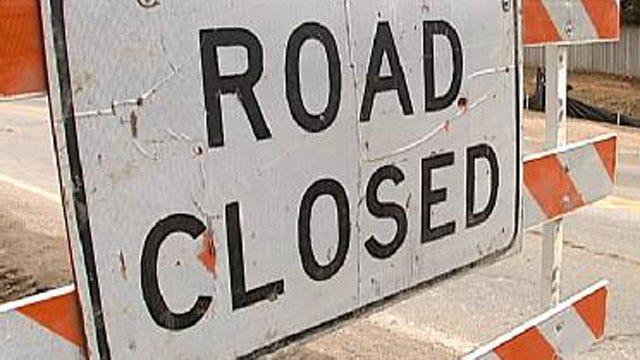 Concrete Work Will Shut Down Tulsa Intersection Friday Evening