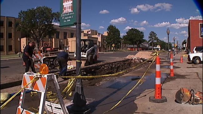City Of Wagoner Under Mandatory Water Restrictions