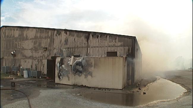 Vinita Church Deemed Total Loss After Large Fire