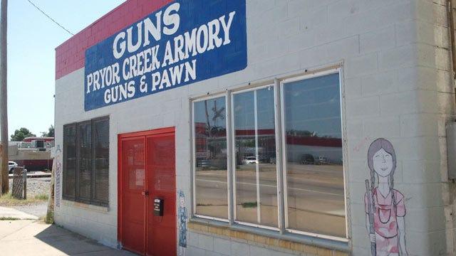 Almost 50 Guns Stolen From Pryor Gun Shop
