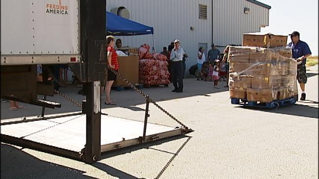Food Bank Helps Depew Residents In Need