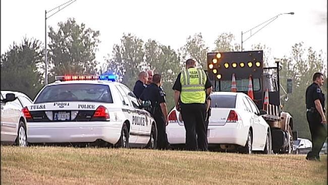 Motorcyclist Found Dead At Scene Of Tulsa Highway Crash