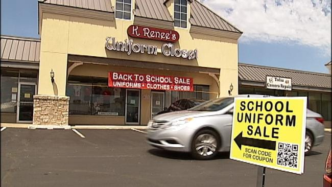Tulsa Uniform Stores Gear Up For Back To School Shoppers