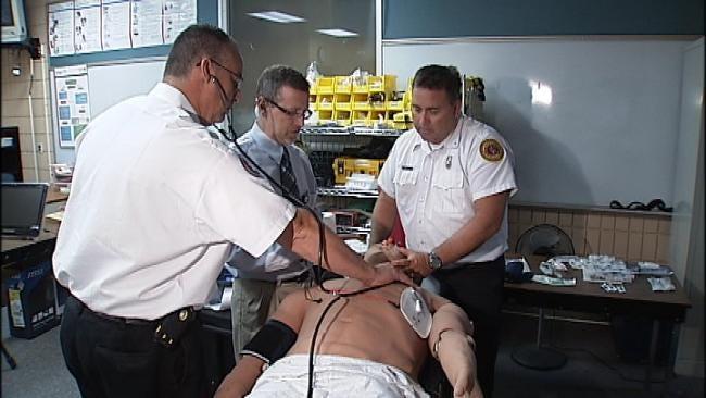 Robotic METI Man Used To Train Tulsa First Responders
