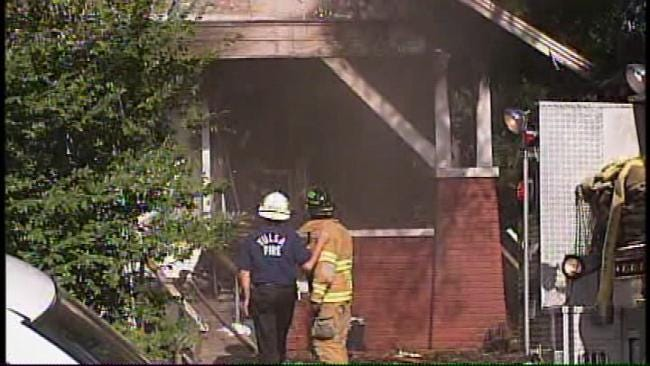 Two Injured In Tulsa House Fire