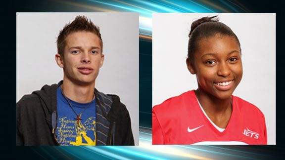 Baade and Fields Take Media Day Contest Honors