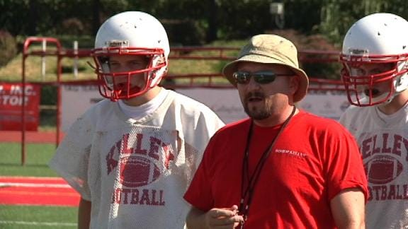 Bishop Kelley Gets Swagger from Head Coach