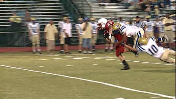 Bishop Kelley Opens District with Shutout of Will Rogers