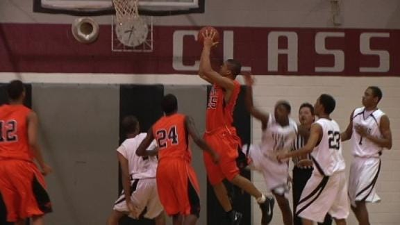 Booker T. Pulls Away from McLain in Second Half