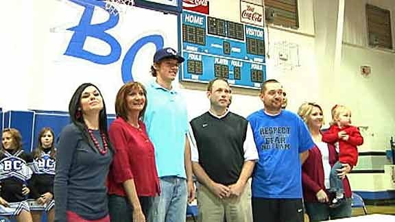 Bridge Creek's Spangler Signs with Gonzaga