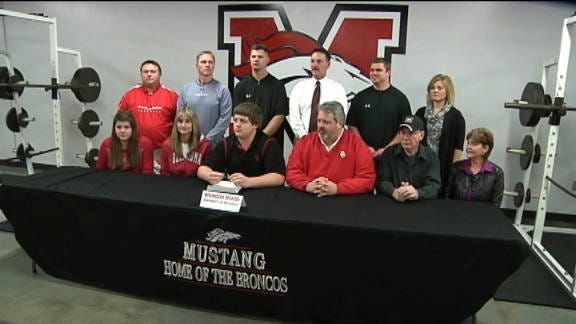 Bronson Irwin Makes OU Signing Official