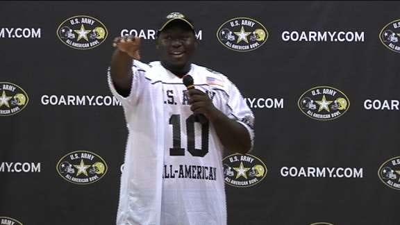 Calvin Barnett Named to U.S. Army All-American Bowl