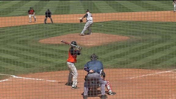 Carl Albert Holds off Norman for 11-10 Win