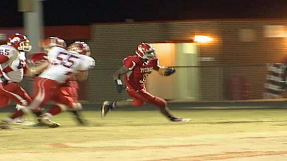 Carl Albert Titans Ease by Durant Lions