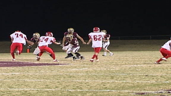 Cashion Holds on Against Texhoma in First Round