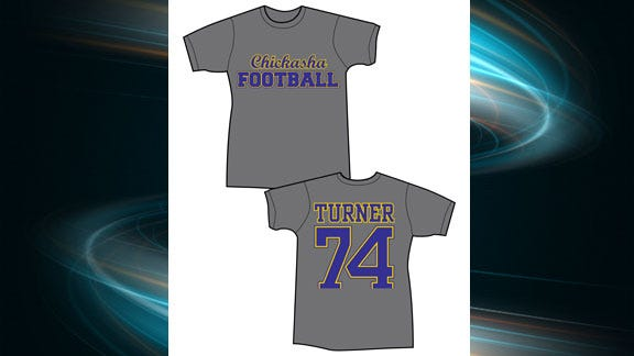 Chickasha Honoring Player's Memory With New T-Shirts