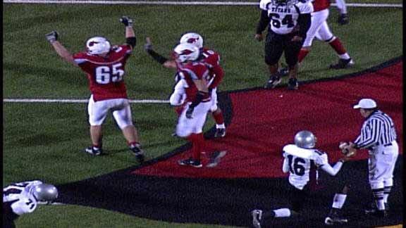 Collinsville Cardinals Shut Out McLain 21-0
