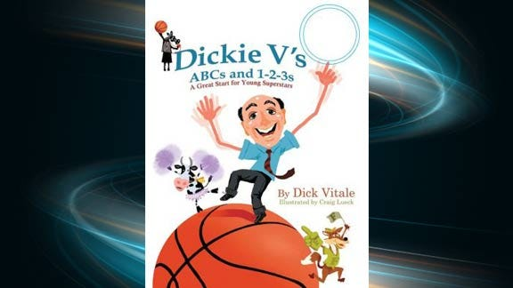 Dick Vitale Shares Book with OU Medical Center Patients