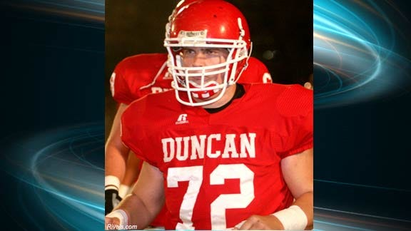 Duncan's Dylan Laurens Recruiting Heating Up