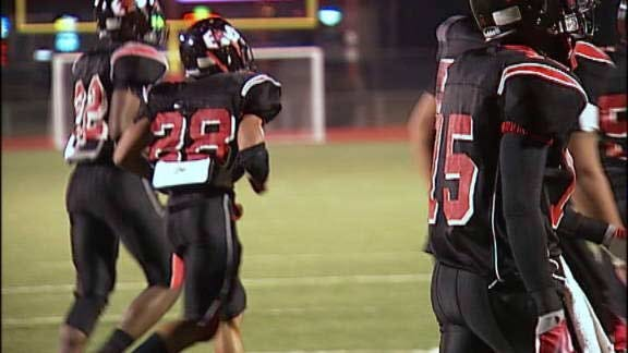 East Central Cardinals Fly by Pryor Tigers
