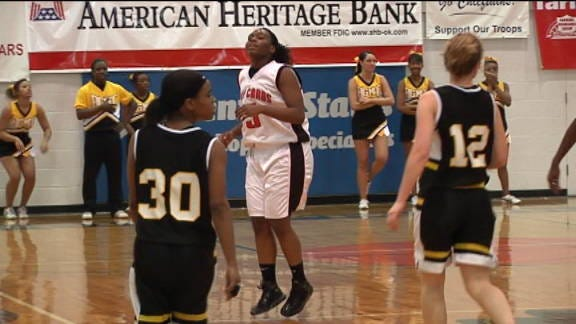 East Central Cruises Past Lawton Mac