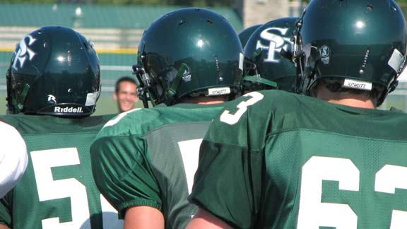 Edmond Santa Fe Wolves and Coach Ready to Attack